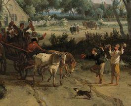 Detail van het schilderij (Rijksmuseum Amsterdam)
