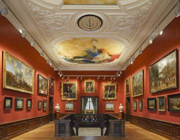 Een van de zalen van het Mauritshuis (Ivo Hoeksta- Mauritshuis)