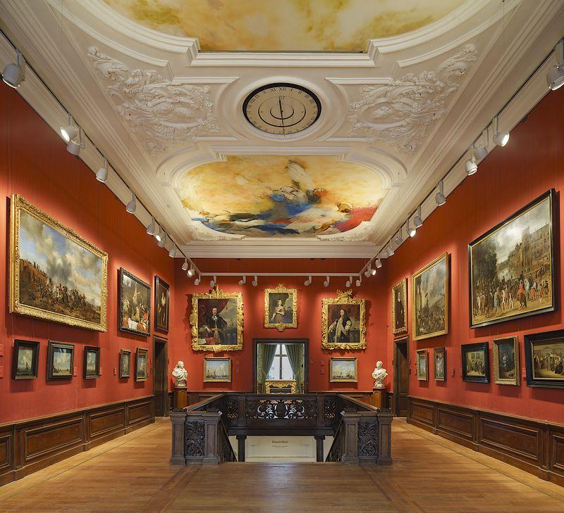 Een van de zalen van het museum (Ivo Hoeksta- Mauritshuis)