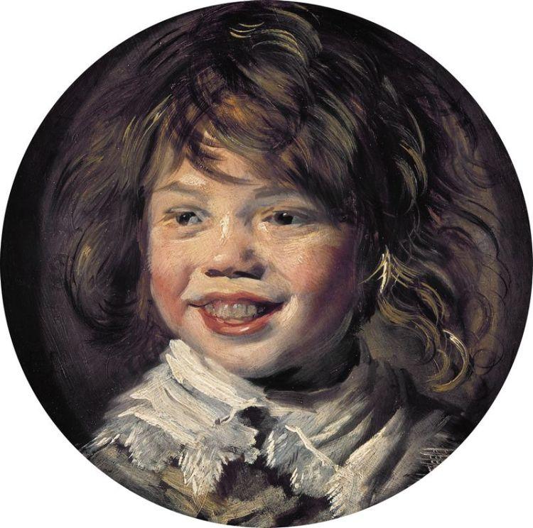 Lachende jongen - Frans Hals, ca. 1625 (Mauritshuis)