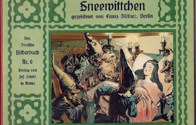 Uitgave van Sneeuwwitje uit 1910 (Franz Jüttner)