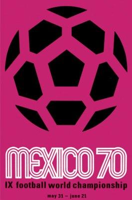 WK Voetbal van 1970 in Mexico
