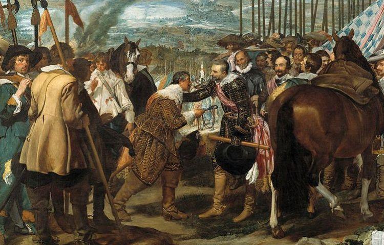 De overgave van Breda - Diego Velázquez, 1634