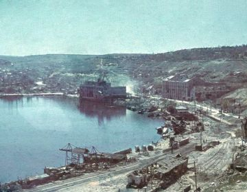 Haven van Sebastopol na beleg van de stad - Bundesarchiv