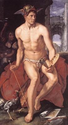 Afbeelding van Mercurius van Hendrick Goltzius