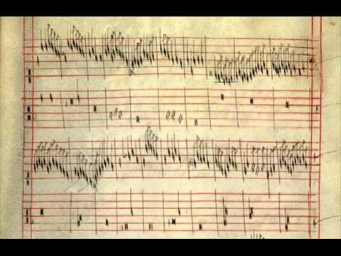Fragment uit de Codex Faenza (consev.es)