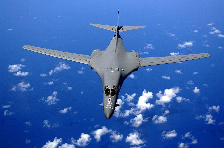 Rockwell B-1B Lancer, een Amerikaanse bommenwerper (US Air Force)