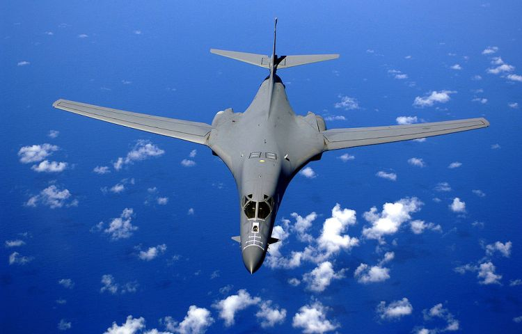 Rockwell B-1B Lancer, een Amerikaanse bommenwerper (US Air Force)