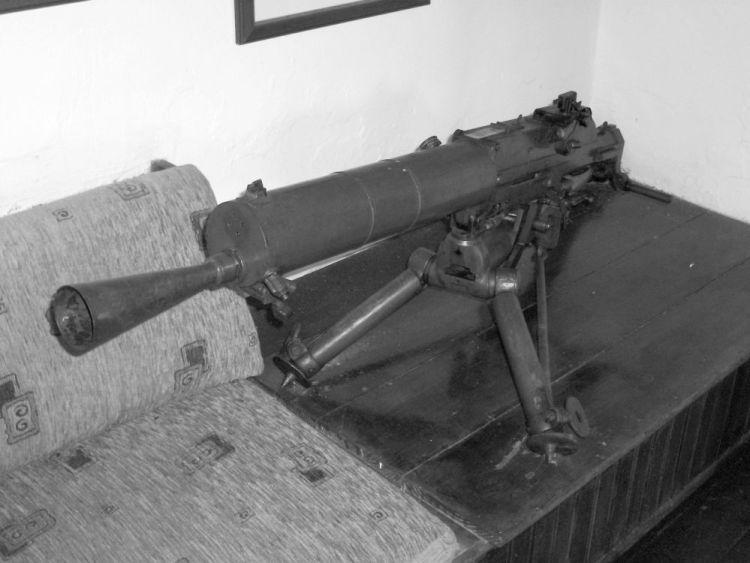 Schwarzlose MG07-12 in Grieks gebruik al voor WOI (wiki-commons)