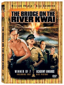 """The Brigde on the River Kwai"" uit 1957"