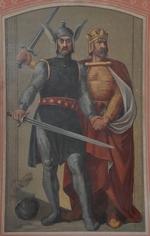 Hagen en Gunther (Alte Nationalgalerie, Berlijn)