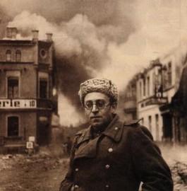 Vasili Grossman met het Rode Leger in Duitsland, 1945