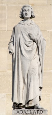 Beeld van Abélard in het Louvre - cc