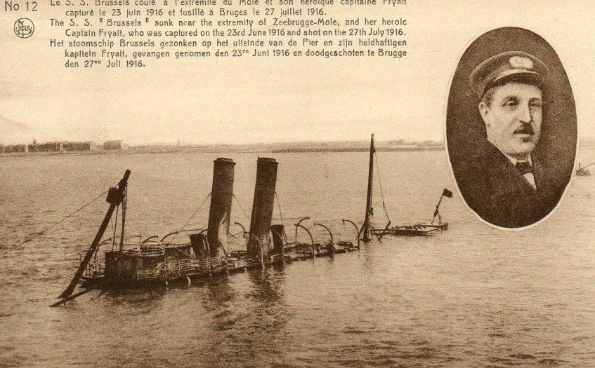 Kapitein Fryatt en de SS Brussels