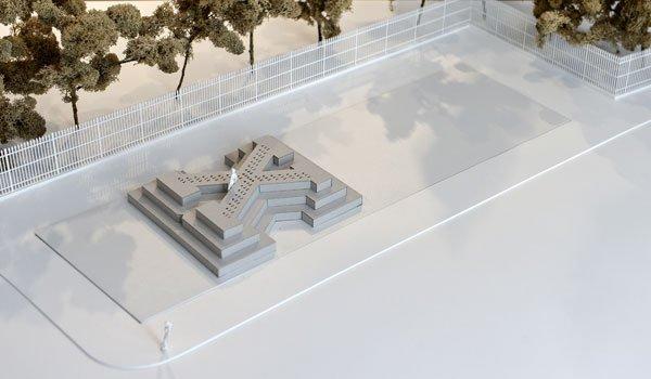 Ontwerp voor het monument (vienna.at)
