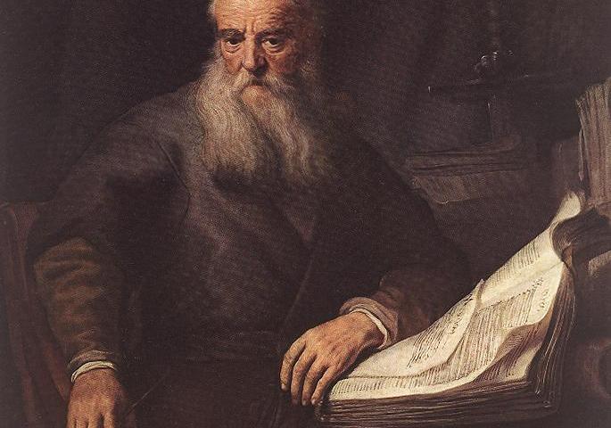 Paulus volgens Rembrandt (1633 of 1635)