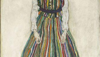 Portret van Edith - Egon Schiele, 1915 (Gemeentemuseum).jpg