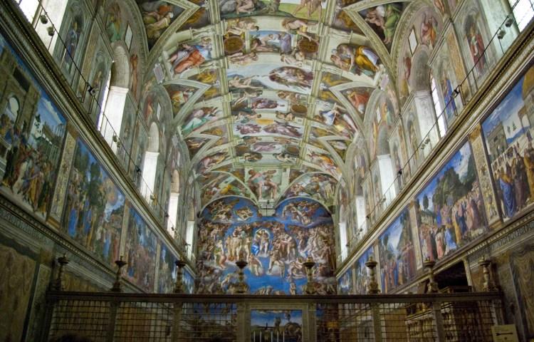 Sixtijnse kapel - cc