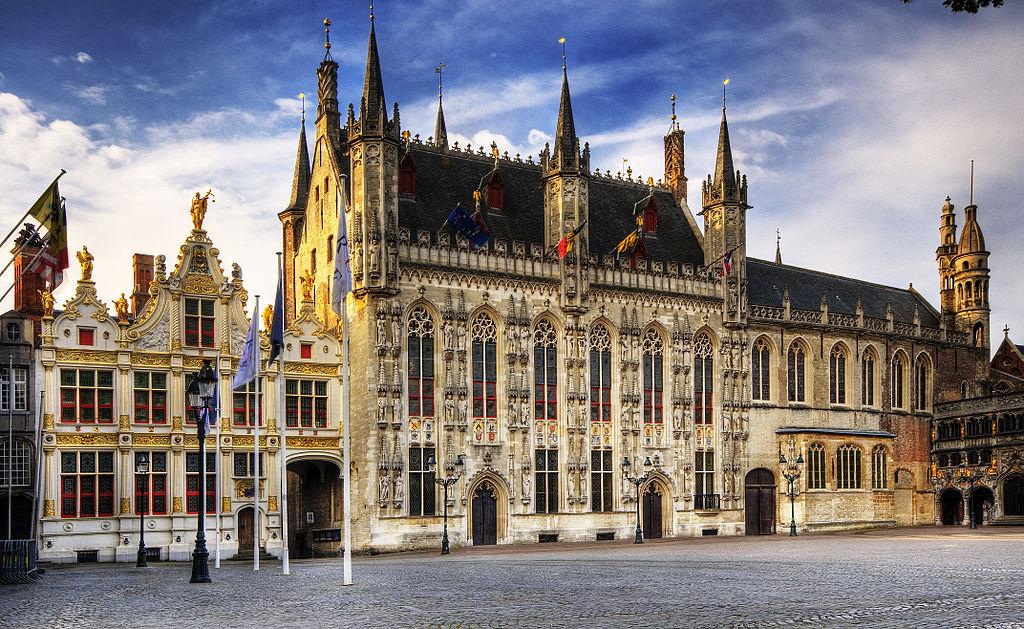 Stadhuis van Brugge, waar het proces tegen Fryatt plaatsvond (cc - Wolfgang Staudt)