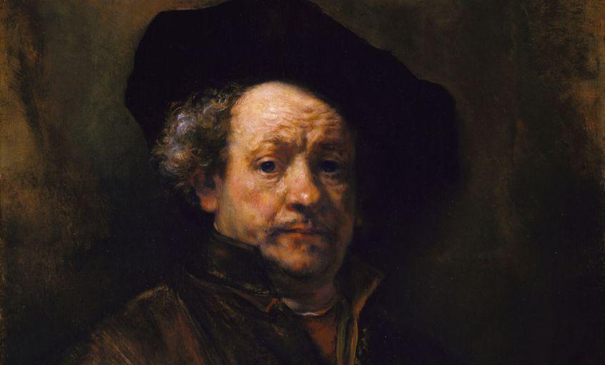 Zelfportret van Rembrandt, 1660