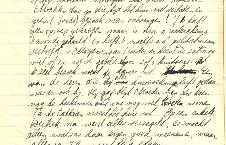 Het Dagboek van Benno ter Berg (Drents Archief)