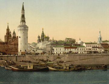 Moskou rond 1900 (photochrom)