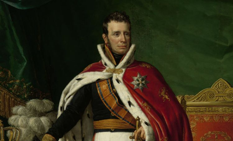 Portret van Willem I koning der Nederlanden Joseph Paelinck 1819 (Rijksmuseum)