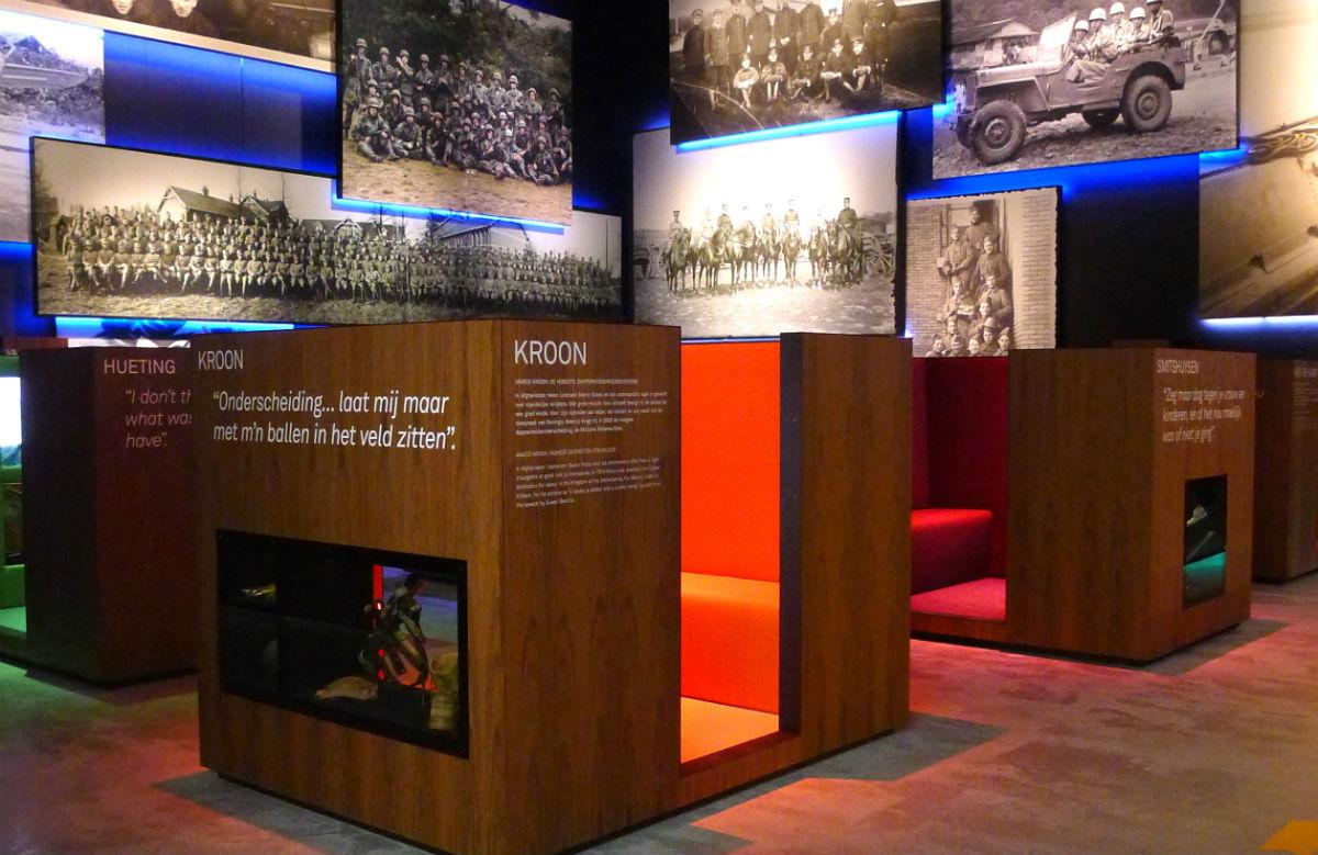 Foto's van het nieuwe nationaal militair museum