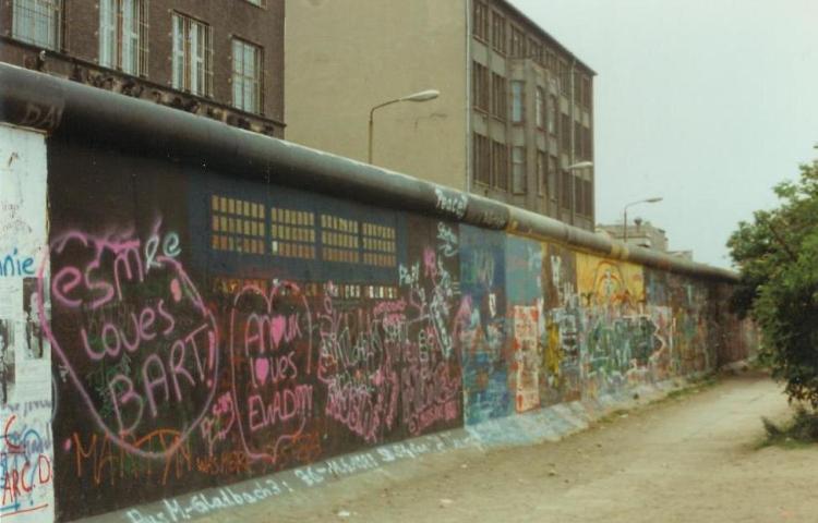 Berlijnse Muur in 1989 - cc