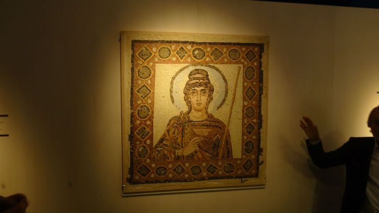 Mozaïek Lady of Carthage