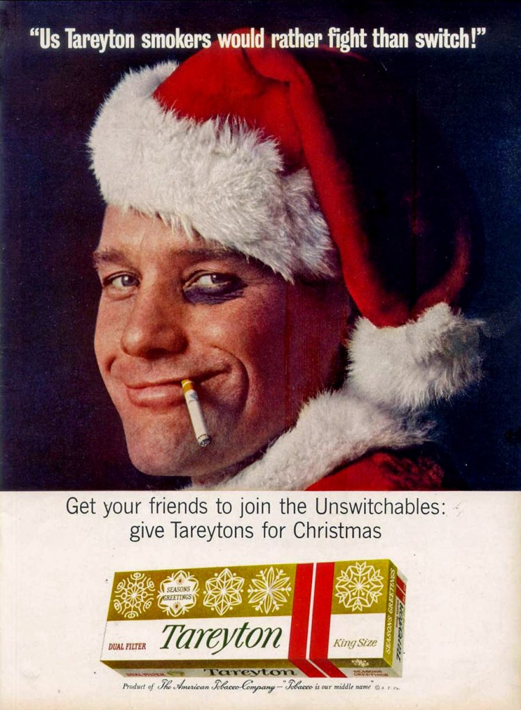 Rokende Kerstman