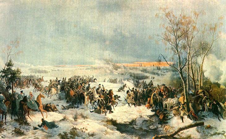 Slag bij Krasnoi - Peter von Hess
