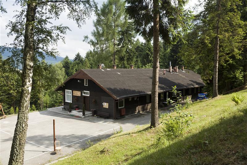 De SS-Hütte Soletal in 2008. Het gebouw werd in de zomer van 2011 gesloopt. © Hans Citroen