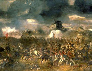 Slag bij Waterloo (Andrieux)