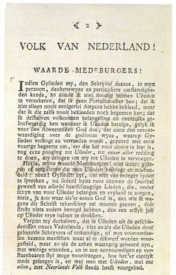 Aan het Volk van Nederland.