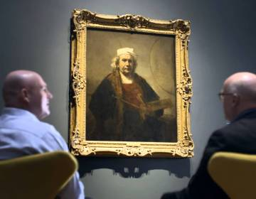 André Kuipers bezoekt 'Late Rembrandt'