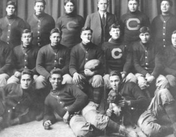 Het Carlisle Football Team in 1911