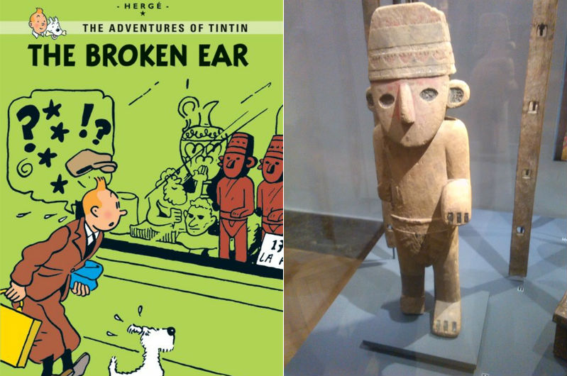 Kuifje en het gebroken oor
