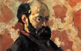 Zelfportret van Cézanne