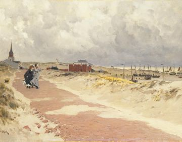 F.H. Kaemmerer, Scheveningen, 1870-1874. Collectie Haags Historisch Museum