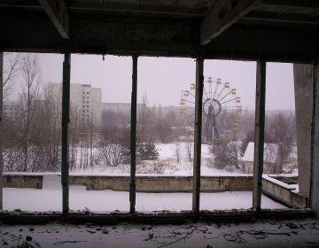 Reuzenrad in Tsjernobyl / Pripjat - cc