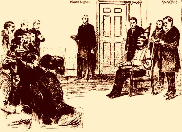 Tekening van de executie van William Kemmler