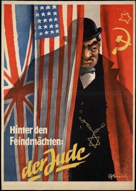 """""""De Jood is onze vijand, onze vijand wordt gesteund door de jood"""" (Geheugen van Nederland)"""