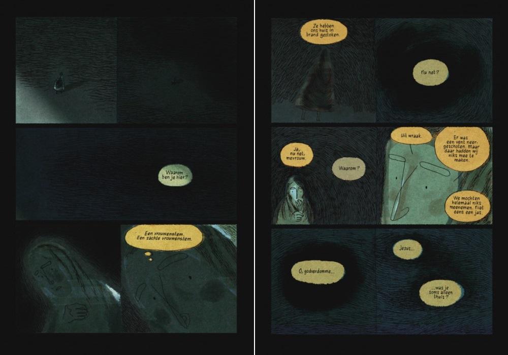 Citaten Uit De Aanslag : De aanslag als graphic novel