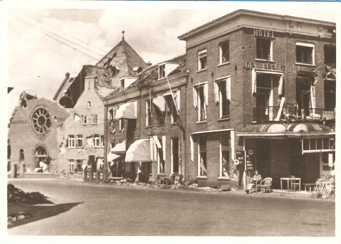 Hotel 'De Wereld', 1945