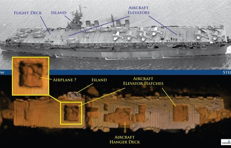 Door het NOAA vrijgegeven afbeeldingen
