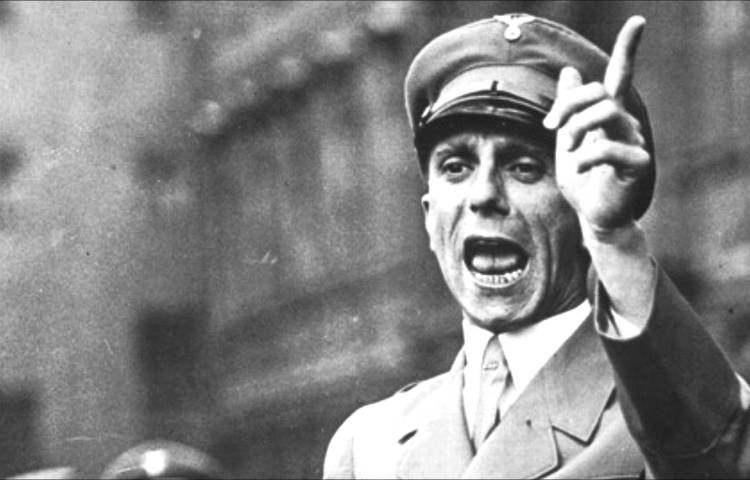Joseph Goebbels (still YouTube)