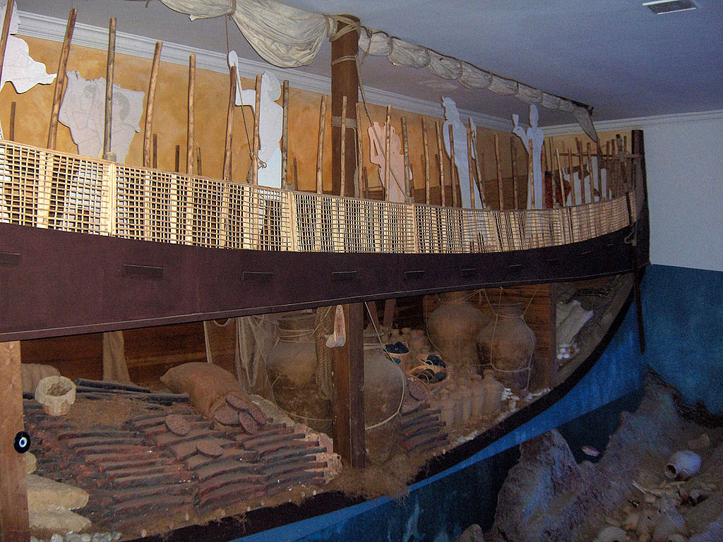 Replica van het Schip van Uluburun