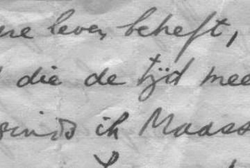 ...detail uit de briefjes van huisarts Mehler...