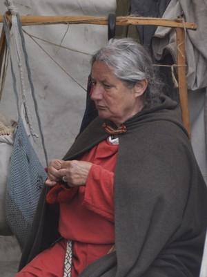 Foto gemaakt tijdens het Romeinenfestival van 2012